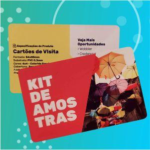 Cartão de Visita - PVC - 4x4